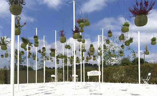 Green Cloud Garden geopend in Allariz International Gardens Festival